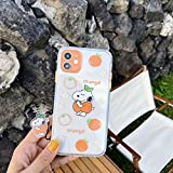 [MOQINO] for iPhone Case Transparent Snoopy...