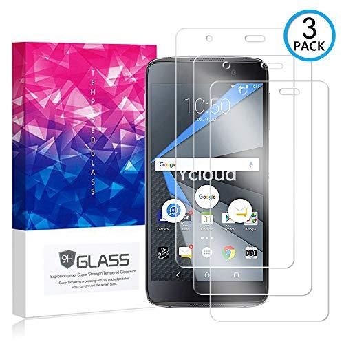 Ycloud [3 Pack] Bildschirmschutzfolie für BlackBerry DTEK50, Staubdichter, kratzfester Bildschirmschutz für BlackBerry DTEK50