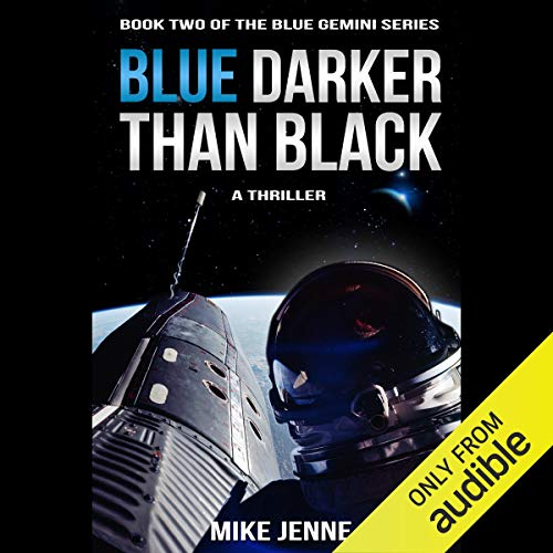 Blue Darker than Black audiobook cover art