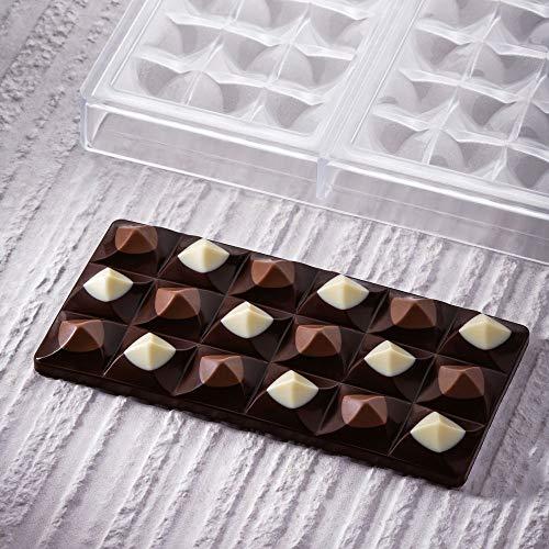 Pavoni PC5009 Moulin - Stampo in policarbonato per tavoletta di cioccolato