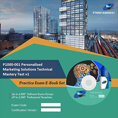 P1000-001 Personalized Marketing Solutions Technical Mastery Test v1 Online Certification Video Learning Success Bundle (DVD)