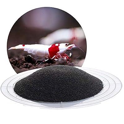 Schicker Mineral Schwarzer Aquariumsand Aquariumkies 0,4-0,8 mm, 25 kg Sack, farbecht, Salzwasser und Süßwasser geeignet, kantengerundet
