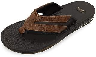 FUNKYMONKEY Mens Sandals, Indoor and Outdoor Beach Summer Casual Flip Flops