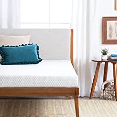 5 inch thick memory foam mattress with firm support 1 inch comfort layer made of gel-infused memory foam for pressure point relief 4 inches of high density base foam for proper back support Mattress is rolled, compressed and boxed for convenient ship...