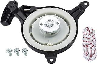 Dalom GXV140 GXV160 Recoil Starter w Rope for Honda HR215 HRB215 HRM195 HRM215 HRC215 HRC216 Lawn Mower GXV160A1 GXV160K1 GXV160UA1 Engine
