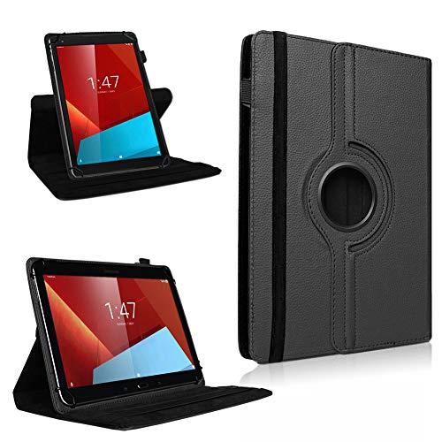 UC-Express Tablet Tasche für Vodafone Smart Tab 4 / 4G Hülle Tablet 360° drehbar Hülle Cover
