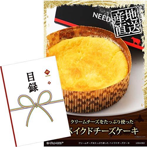 【目録引換券+A3パネルでお届け】クリームチーズをたっぷり使った ベイクドチーズケーキ
