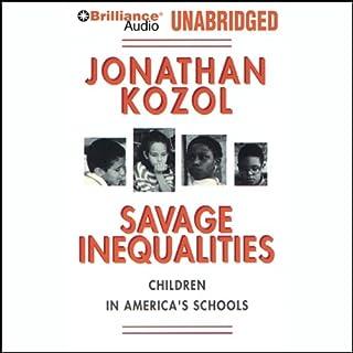 Savage Inequalities audiobook cover art