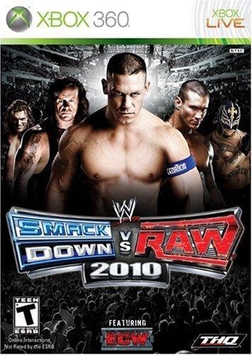 WWE 2010 Smackdown vs Raw - Xbox360