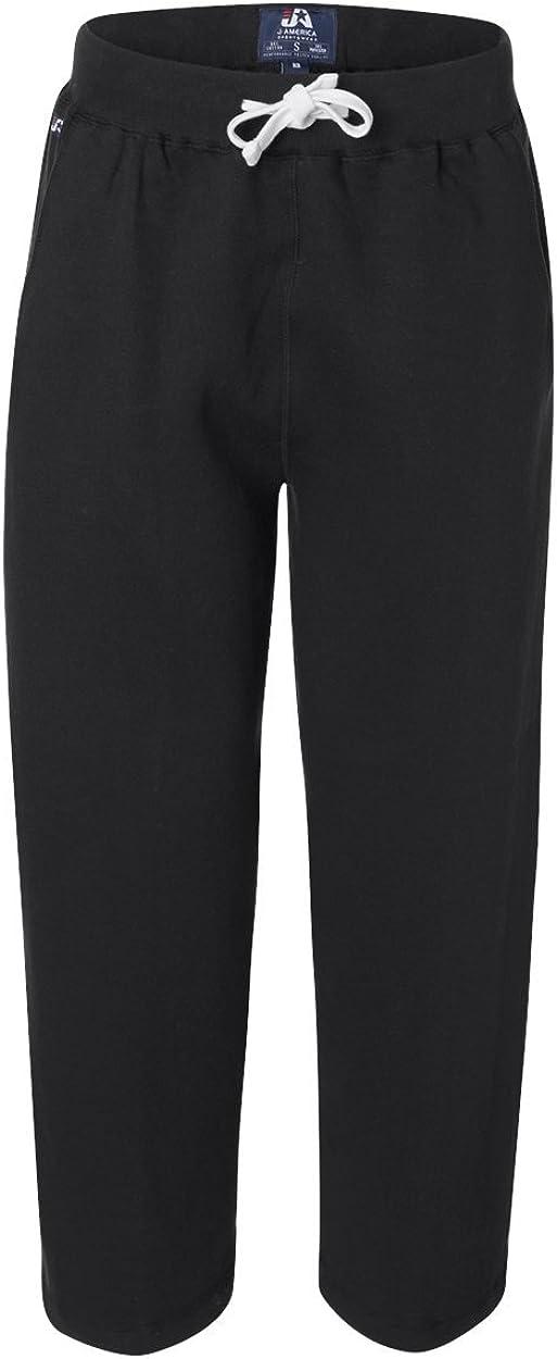 J. New popularity America Premium Sweatpants Bottom Open Tulsa Mall