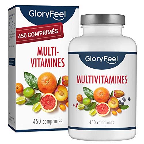 Multivitamines et Minéraux - 450 Comprimés...