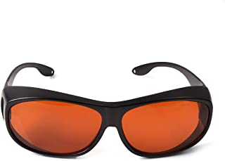 OD 6+ 190nm-550nm / 800nm-1100nm Wavelength Professional Laser Safety Glasses for 405nm, 450nm, 532nm, 808nm,980nm,1064nm, 1080nm, 1100nm Laser (Style 4)