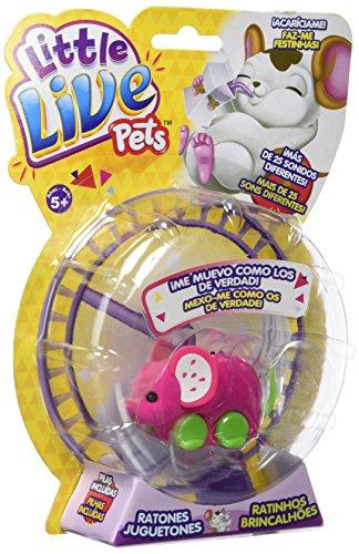 little live pets Pippeez, ratón juguetón (Famosa 700013199), Surtido:...