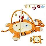 LYXCM Alfombra portátil para actividades de gimnasio, gimnasio, gimnasio, ejercicio de las extremidades del bebé/explorar/capacidad auditiva
