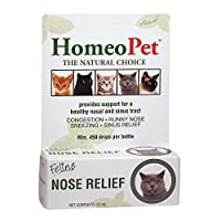 PROVIDES SUPPORT FOR A HEALTHY NASAL AND SINUS TRACT - in cats of all ages CAN AID WITH A RUNNY NOSE, WATERY EYES, SNEEZING AND CONGESTION 100% NATURAL PET MEDICINE - our chemical free formulas have no known side effects and are safe for long term us...