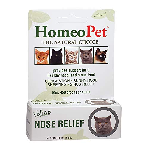 HomeoPet Feline Nose Relief, One Size (14766)