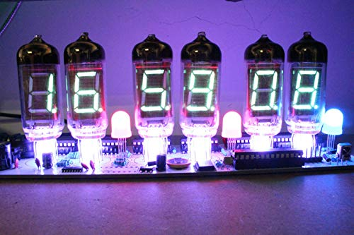 NIXT CLOCK - DIY IV11 VFD Clock DIY Electronic Soldering Kit Nixie era VFD Tube