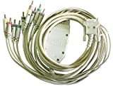 Cardiovit ECG AT-1, AT-101, AT-2, AT-2 plus, AT-102, AT-4, AT-104, AT-10 plus, AT-110, MS-2010 Patient Cable for Schiller Cardiovit ECG Machine Color:Ivory shield, durable Buy Only Schiller Cardiovit Genuine Medical Accessories & Consumables Schiller...
