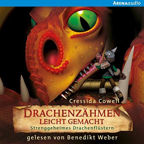 Strenggeheimes Drachenflüstern (Drachenzähmen leicht gemacht 3) audiobook cover art