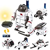 GILOBABY Solar Robot Toy for Children, 6 IN 1 STEM Educational Space Robotic Toy, DIY Build Science Experiment...