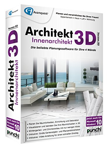 Architekt 3D X8 Innenarchitekt