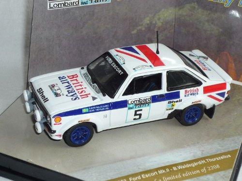 Vitesse Ford Escort Mk 2 ii Waldegard Rac Lombard Rally 1977 1/43 Modell Auto Modellauto Sonderangebot