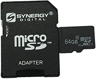 Nokia N-Gage QD Cell Phone Memory Card 64GB microSDXC Class 10 Extreme Memory Card with SD Adapter