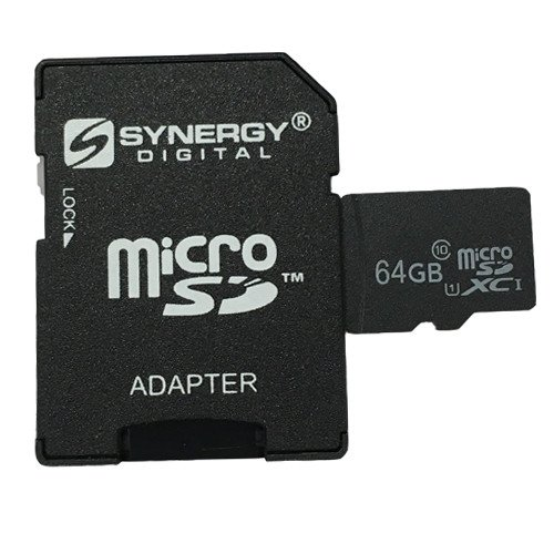 Veho Muvi-X Quadcopter Drone Memory Card 64GB microSDXC Class 10 Extreme Memory Card with SD Adapter
