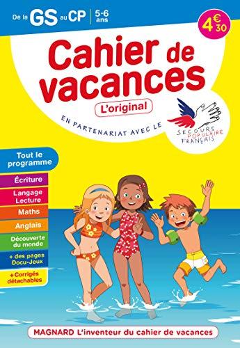 Cahier de vacances de la GS au CP: Magnard, l'inventeur du cahier de vacances