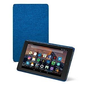 Amazon - Custodia originale per Fire HD 8 (tablet 8'', 7ᵃ e 8ᵃ generazione, modelli 2017 e 2018), Indaco