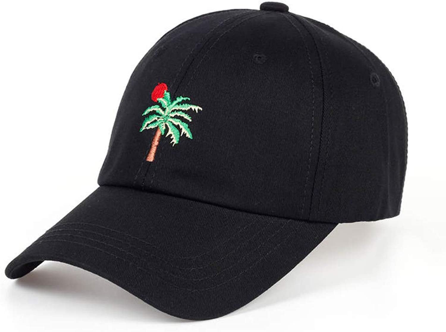 56053ee1d Chlally New Adjustable Embroidery Palm Trees Curved Snapback ...