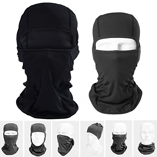 Viper Motorbike Motorcycle Scooter On Tour 1 Hole Thermal Balaclava Under Helmet Protection 100/% Cotton Snood Helmet Balaclavas Black