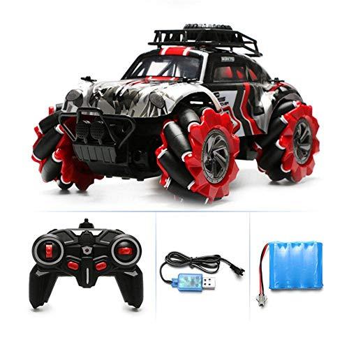 Iwinna 1:14 RC 4x4 Crawler Off-Road – 2.4G rotación 360° escalada lateral deriva coche control remoto truco vehículo camión juguete para niños