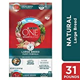 Purina ONE Natural Large Breed Dry Puppy Food, SmartBlend Large Breed...