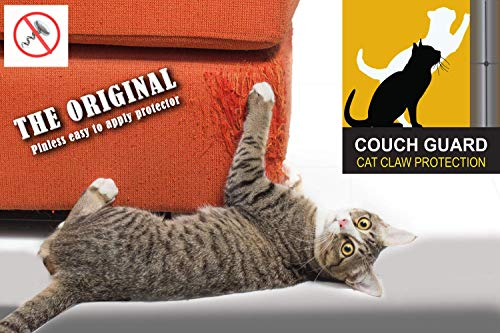 COUCH GUARD. The CAT Claw Protector. Includes 2 SELF-Adhesive Protector Pads 30 Long x 8 Wide