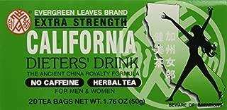 6pk - California Tea - Dieters Drink - 20 bags by sallyashop