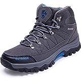 LSYSAG Zapatillas de Senderismo para Hombre Botas De Senderismo Deporte Exterior Zapatillas de Trekking Gris 39 EU