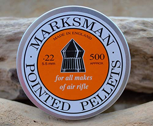 POINTED PELLETS FROM MARKSMAN .22/5.5MM