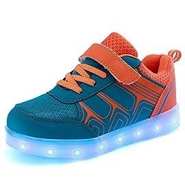 DoGeek-Zapatos-Led-Deportivos-para-Hombres-Mujeres-7-Color-USB-Carga-LED-Luz-Glow-Luminosos-Zappatillas-Light-Up-USB-Velcro-Flashing-Zapatillas