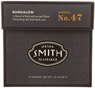 SMITH TEAMAKER TEA,BLACK,BUNGALOW, 15 BAG by Smith