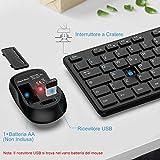 Zoom IMG-2 tastiera e mouse wireless italiano