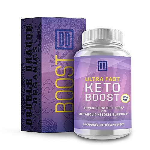 Ultra Fast Keto Boost - Keto Booster- Double Dragon Organics (60 Caps /...