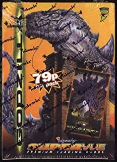Factory Sealed 36 Pack Box of 1998 Inkworks Godzilla Supervue Cards [並行輸入品]