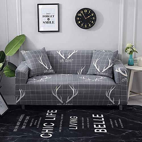 Allenger Funda de sofá Antideslizante,Funda elástica para sofá, Funda Antideslizante Todo Incluido para sofá, Protector de sofá para Sala de Estar y cafetería-A7_235-300cm