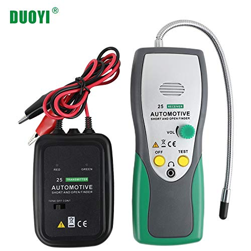 DY25 Automotive Circuit Tester,Car Electrical System Diagnostic Tool,AUTO Short Open Circuit Finder Tester Cable Tracker Car Repair Tool