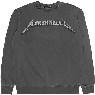 Marshmello Authentic Merchandise Mens Unisex Styling Heavy Metal Mello Crewneck