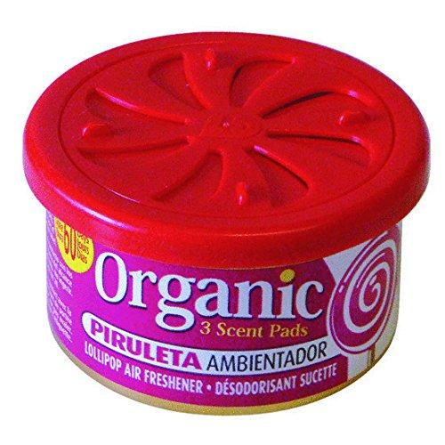 Organic Scent Duftdose Lollipop - Piruleta Lufterfrischer Auto Duft Raumerfrischer