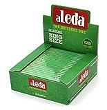1 caja de papel de celulosa transparente tamaño King de Brasil, 20 folletos en total