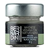 Bernardini Tartufi Mayonesa Vegana con Trufa Negra - 3 Paquetes de 1 x 30 gr - Total: 90 gr
