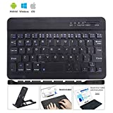 Ultra Slim Wireless Keyboard Ultrathin Wireless Bluetooth Keyboard 7 inch Bluetooth 3.0 Keyboard